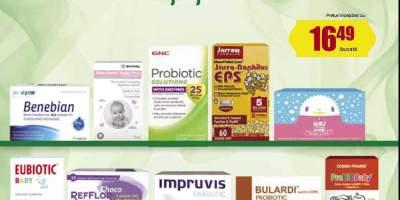 25% reducere la probiotice pentru adulti si copii