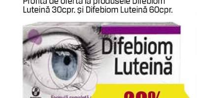 Tratamente oculare Difebiom Luteina