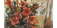 Tablou metalic Flowers