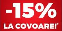 15% la covoare!