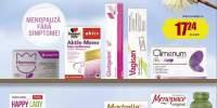 25% reducere la produsele pentru menopauza selectate