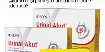 Urinal Akut pentru afectiuni urinare