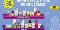 35% reducere la produsele pentru copii