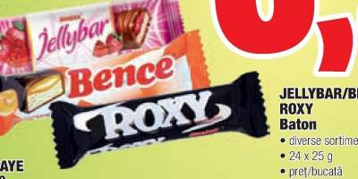 Jellybar/Bence/Roxy baton