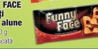 Funny Face biscuiti crema alune