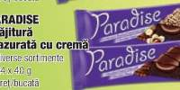 Paradise prajitura glazurata cu crema