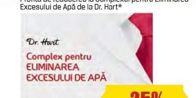 Complex pentru eliminarea excesului de apa Dr. Hart