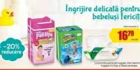 20% reducere la produsele pentru ingrijire bebelusi