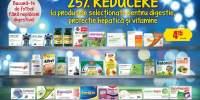 25% reducere la produsele pentru digestie, protectie hepatica si vitamine
