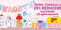 25% reducere la produsele din gama de ingrijire copii