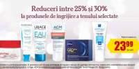 Reducere intre 25-35% la produsele de ingrijire a tenului selectate