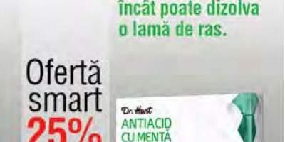 Antiacid cu menta Dr. Hart