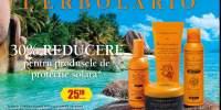 30% reducere la produsele L'Erbolario de protectie solara