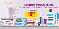 Reduceri intre 25-30% la produsele pentru igiena orala