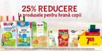 25% reducere la produsele pentru hrana copii