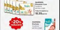 20% reducere la produsele Pampers - concurs