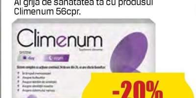 Climenum menopauza