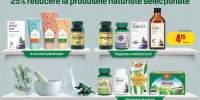 25% reducere la produsele naturiste selectionate
