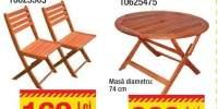 Set 2 scaune Pliabileaccacia