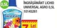 Ingrasamant lichid Universal Agro 0.5 L