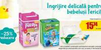 25% reducere la pampers Pull-Ups