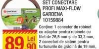 Set conectare Profi Maxi-Flow Gardena