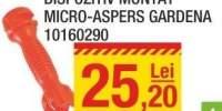 Dispozitiv montat Micro-Aspers Gardena