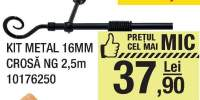 Kit metal 16mm as portocaliu 0.53x10m