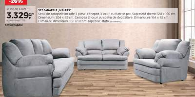 Set canapele Malfas
