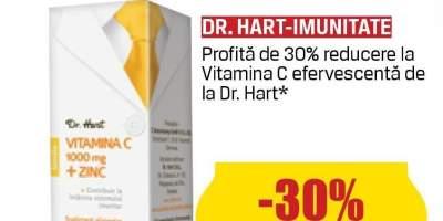 Vitamica C efervescenta Dr. Hart
