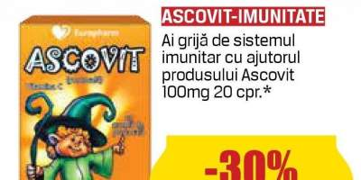 Supliment pentru imunitate copii Ascovit