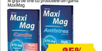 Suplimente antistres si oboseala Maxi Mag