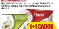 Fluxiv/ Silihtor - picioare grele si protectie hepatica