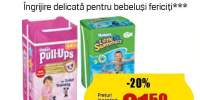 Scutece copii Huggies Little Swimmers si Pull-Ups