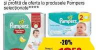 Scutece Pampers
