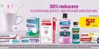 30% reducere la produsele pentru igiena orala