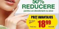 Dr. Organic deodorant: 50% reducere