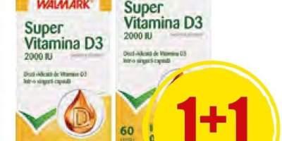 Vitamina D3 capsule Wallmark