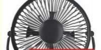 Mini ventilator 15 W Metal Equation