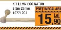 Kit Lemn Eco Natur