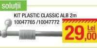 Kit Plastic Classic Alb 2m