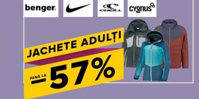 Jachete adulti pana la 57% reducere