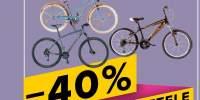 40% reducere la toate bicicletele KTM, X-FACT, Scrocco, Focus