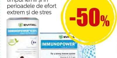 Sirop si tablete Evital Imunopower
