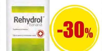 Banana Rehydrol 10 plicuri