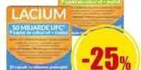 Lacium 10 capsule pentru flora intestinala
