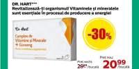 Complex de vitamine si minerale cu ginseng Dr. Hart