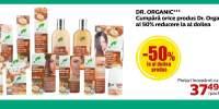 Dr. Organic: 50% reducere la al doilea produs cumparat