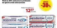 Sensodyne / Parodontax: pana la 30% reducere la produsele pentru igiena orala