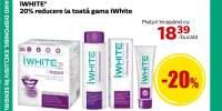 iWhite: 20% reducere la toata gama de produse